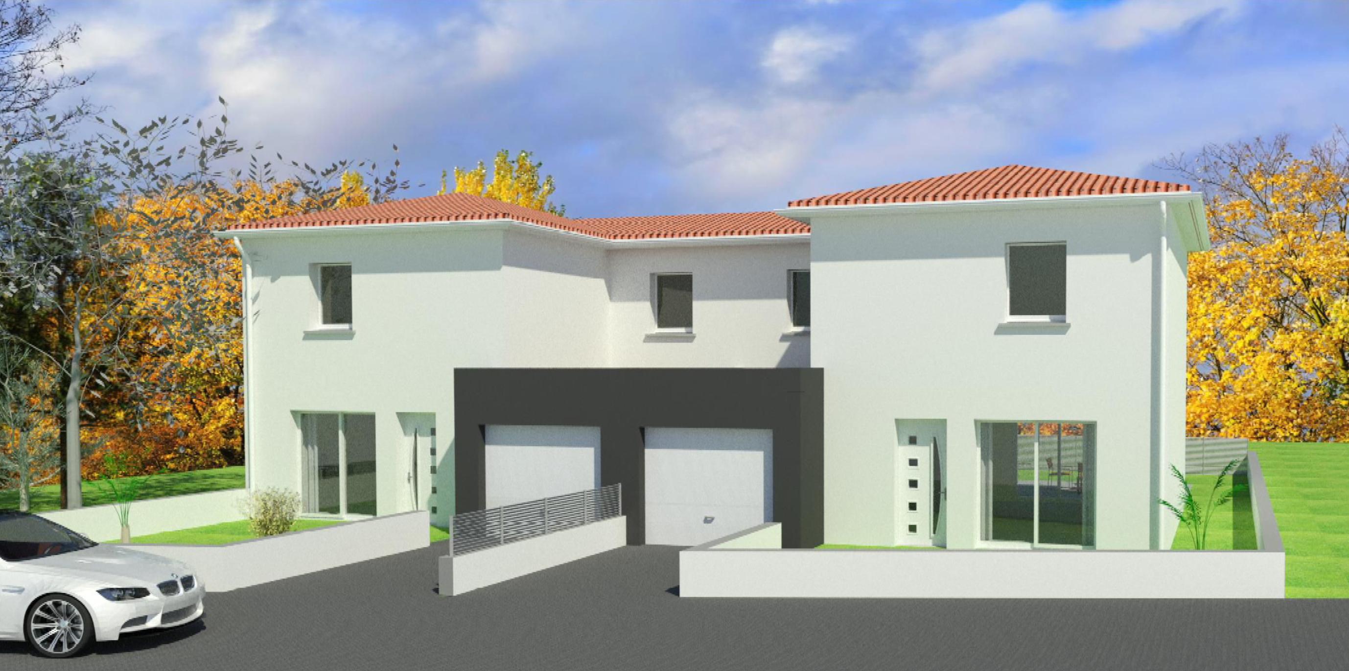Maisons Bastide – Secteur Nord de Clermont Ferrand – Avant projet